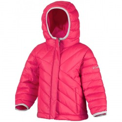 Down jacket Columbia Powder Lite Baby coral