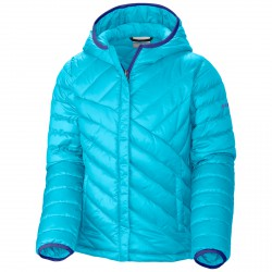 Down jacket Columbia Powder Lite Girl light blue