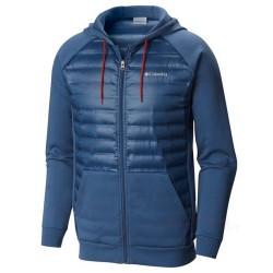 Chaqueta esquí Columbia Northern Comfort Hombre verde azulado