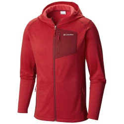 Fleece Columbia Jackson Creek Man red