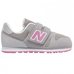 Sneakers New Balance 373 Hook and Loop Baby gris-rose