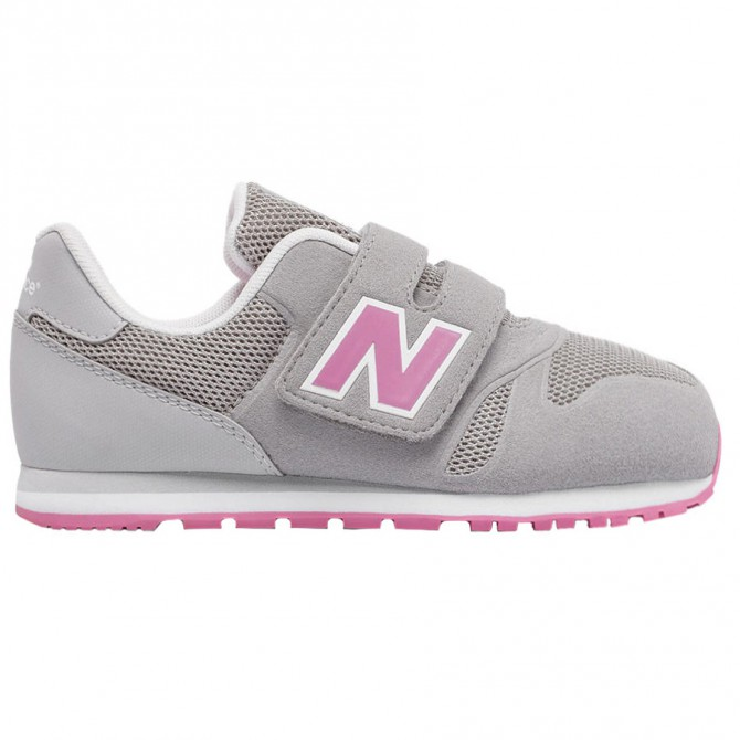 Sneakers New Balance 373 Hook and Loop Baby grigio-rosa NEW BALANCE Scarpe sportive