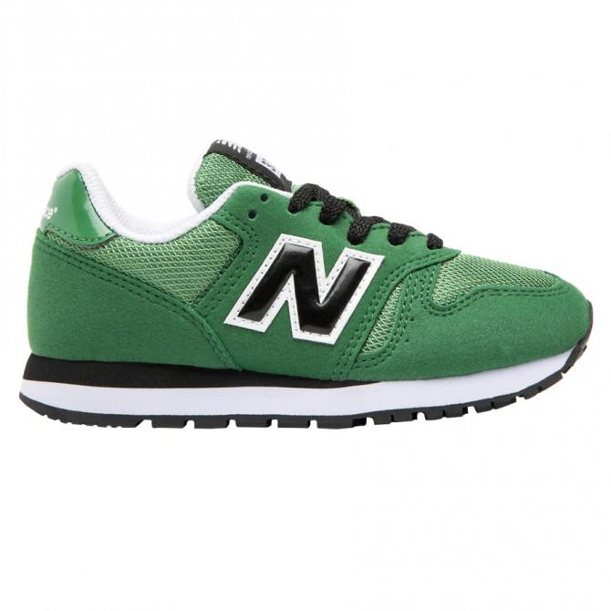 Scarpe New Balance Classic 373 Junior verde con lacci