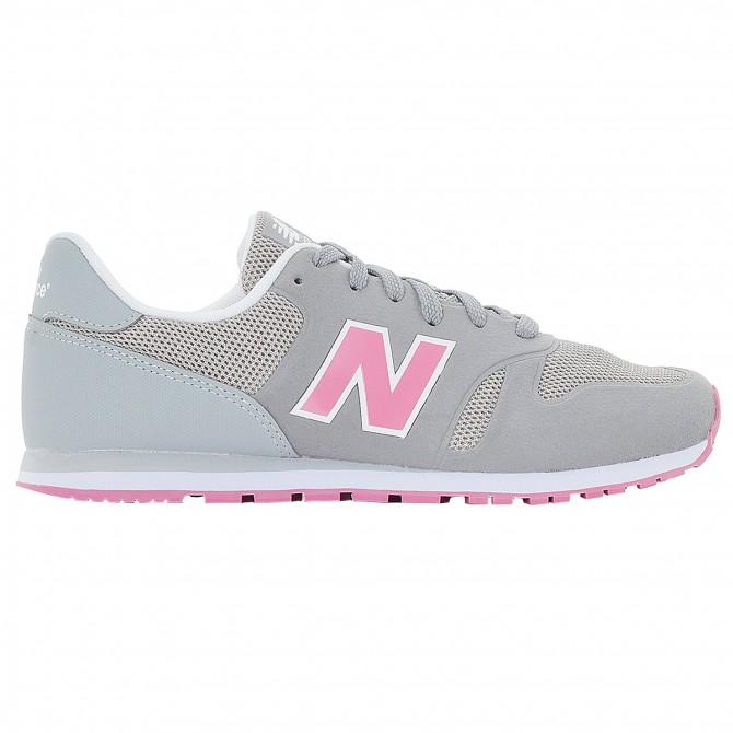 Sneakers New Balance Classic 373 Girl grigio-rosa NEW BALANCE Scarpe sportive