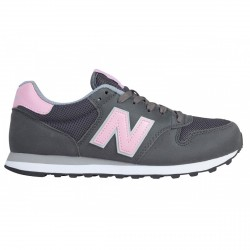 Sneakers New Balance 500 Mujer gris-rosa