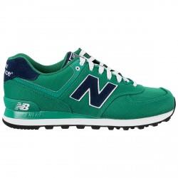 Sneakers New Balance 574 Homme vert-bleu