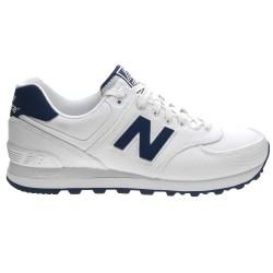 Sneakers New Balance 574 Hombre blanco-azul