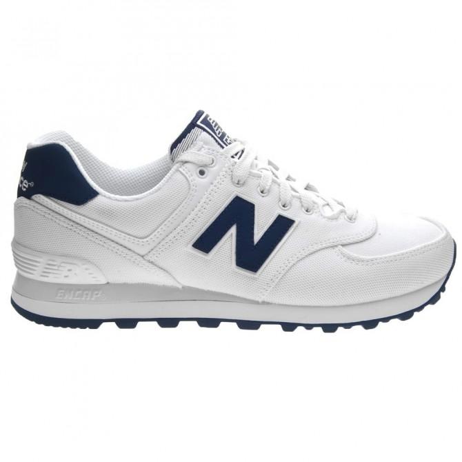 Sneakers New Balance 574 Uomo bianco-blu NEW BALANCE Scarpe moda