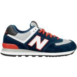 Sneakers New Balance 574 Hombre azul-rojo