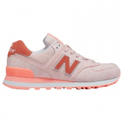 Sneakers New Balance 574 Mujer rosa
