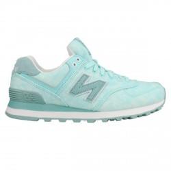 Sneakers New Balance 574 Donna verde acqua