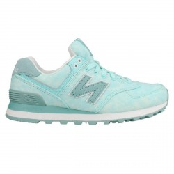 Sneakers New Balance 574 Mujer verde claro