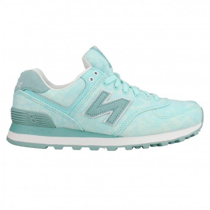 Sneakers New Balance 574 Donna verde acqua NEW BALANCE Scarpe moda