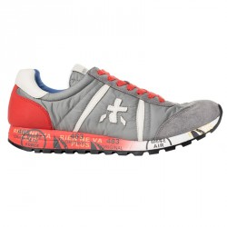 Sneakers Premiata Lucy Hombre gris