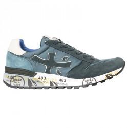 Sneakers Premiata Mick Hombre azul-gris