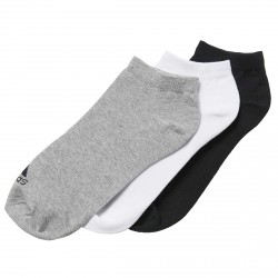 Calze Adidas Performance No-Show Thin nero-grigio-bianco