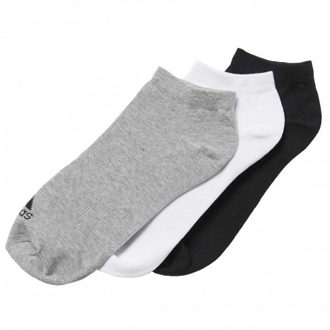 Calcetines Adidas Performance No-Show Thin negro-gris-blanco