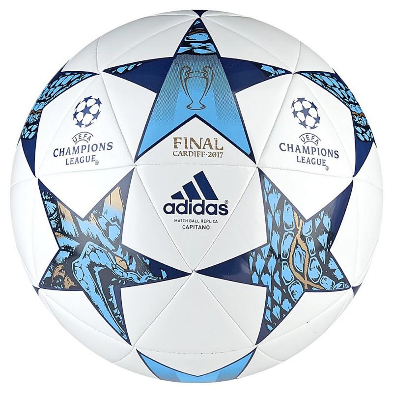 Pallone calcio Adidas Finale Champions League Replica bianco