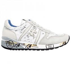 Sneakers Premiata Diane Mujer blanco-gris-beige