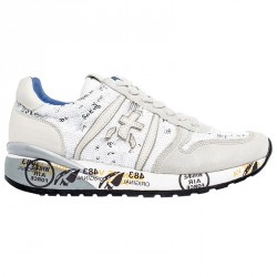Sneakers Premiata Diane Woman white-grey-beige