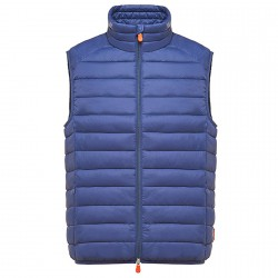 Gilet Save the Duck D8241M Homme bleu barbeau