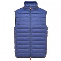 Vest Save the Duck D8241M Man cornflower blue