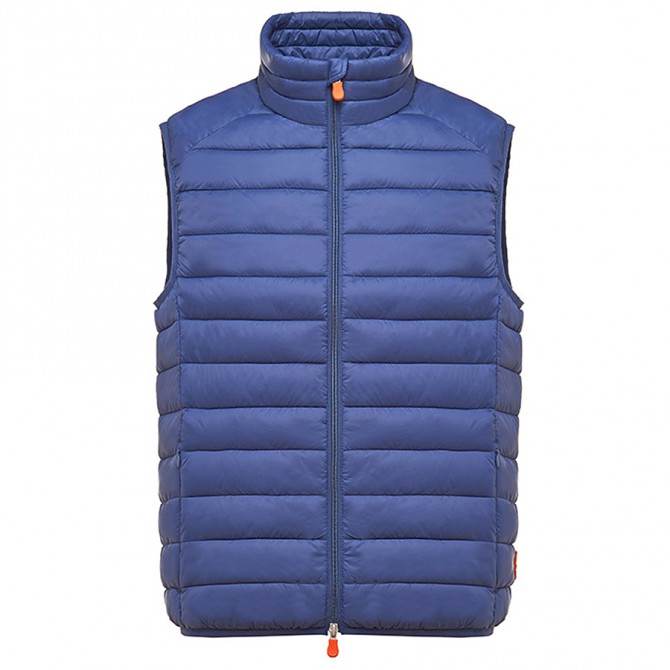 Gilet Save the Duck D8241M Uomo bluette