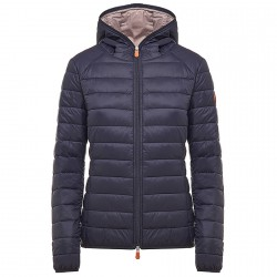 Down jacket Save the Duck D3362W-GIGA4 Woman blue