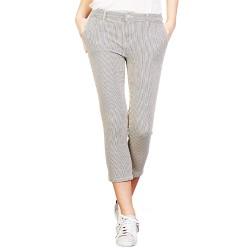 Pantalones Manila Grace Mujer kaki-negro