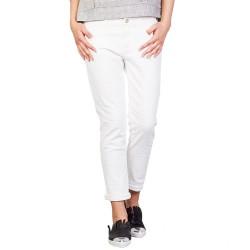 Pantalones Manila Grace Skinny Mujer blanco