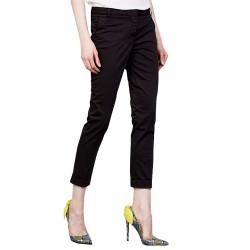 Pantalon Manila Grace Chino Femme noir