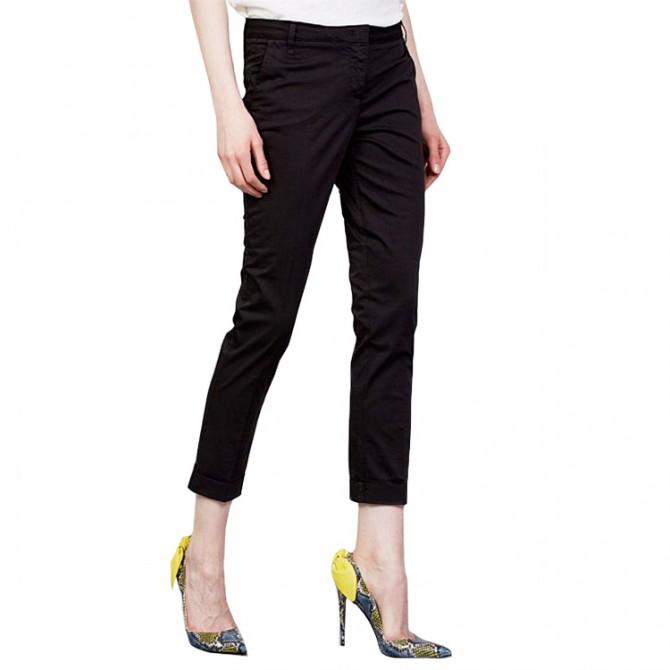 Pantalones Manila Grace Chino Mujer negro