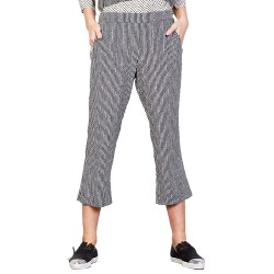 Pantalon Manila Grace Femme noir-blanc