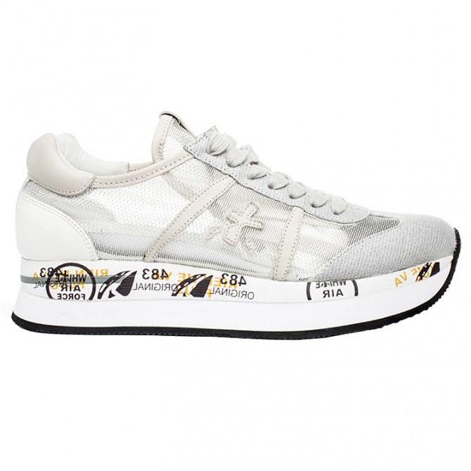 Sneakers Premiata Conny Donna argento-grigio PREMIATA Scarpe moda