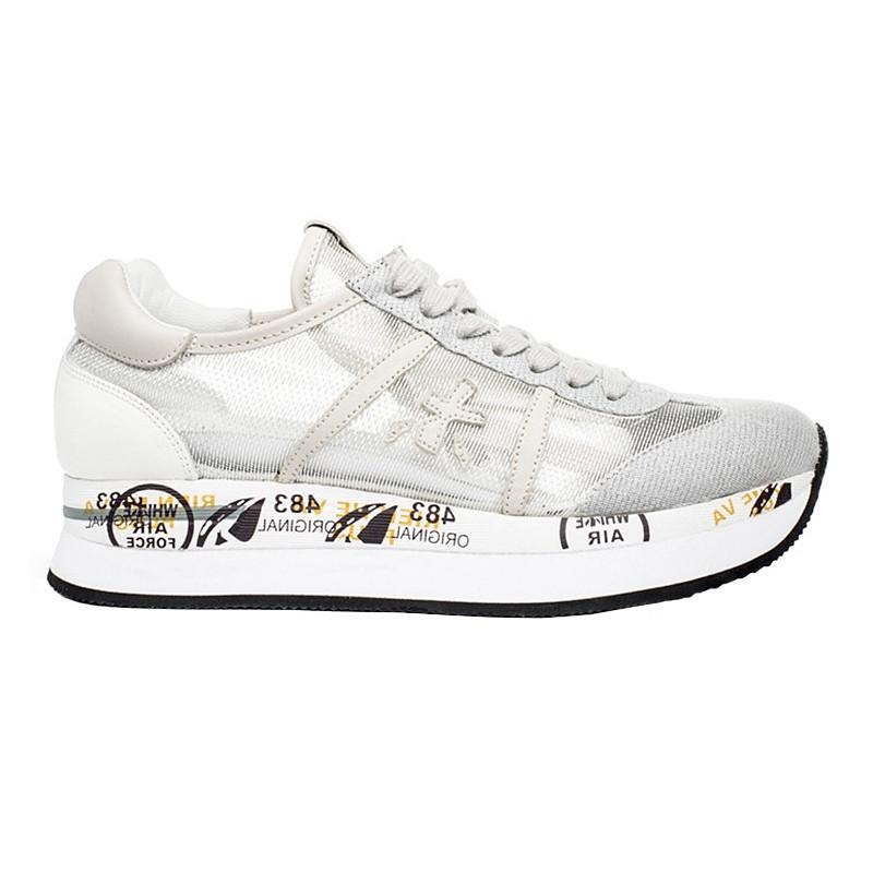 Sneakers Premiata Conny Woman silver-grey