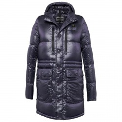 Down jacket Blauer Trench Winter Man blue