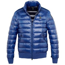 Down jacket Blauer Academy Man blue