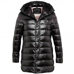Down jacket Blauer Parka Man black