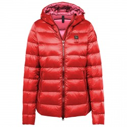 Down jacket Blauer Winterlight Icont Woman red