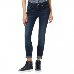 Jeans Liu-Jo Bottom Up Magnetic Femme bleu sombre