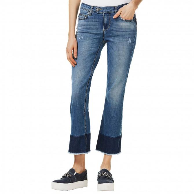 Jeans Liu-Jo Bottom Up Microflair Donna - Abbigliamento tempo libero 12eb4596f6f