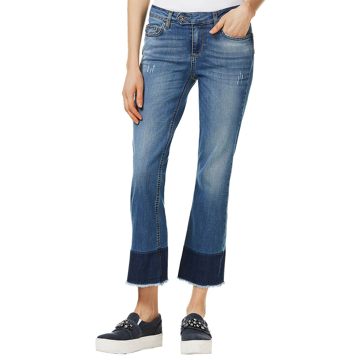 enorme sconto c67c3 56b04 Jeans Liu-Jo Bottom Up Microflair Woman - Leisure clothing