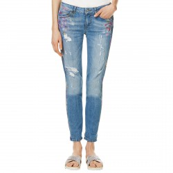 Jeans Liu-Jo Bottom Up Monroe Femme bleu