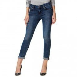 Jeans Liu-Jo Bottom Up Monroe Femme bleu sombre