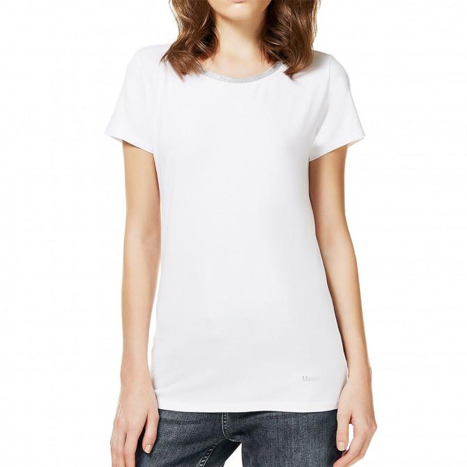 T-shirt Liu-Jo 2 Everyday Donna bianco