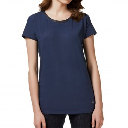 T-shirt Liu-Jo 2 Everyday Donna blu