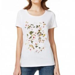 T-shirt Liu-Jo Hoop Femme blanc