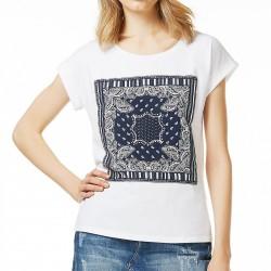 T-shirt Liu-Jo Bandana Femme