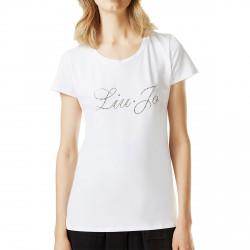 T-shirt Liu-Jo Eshe Femme blanc