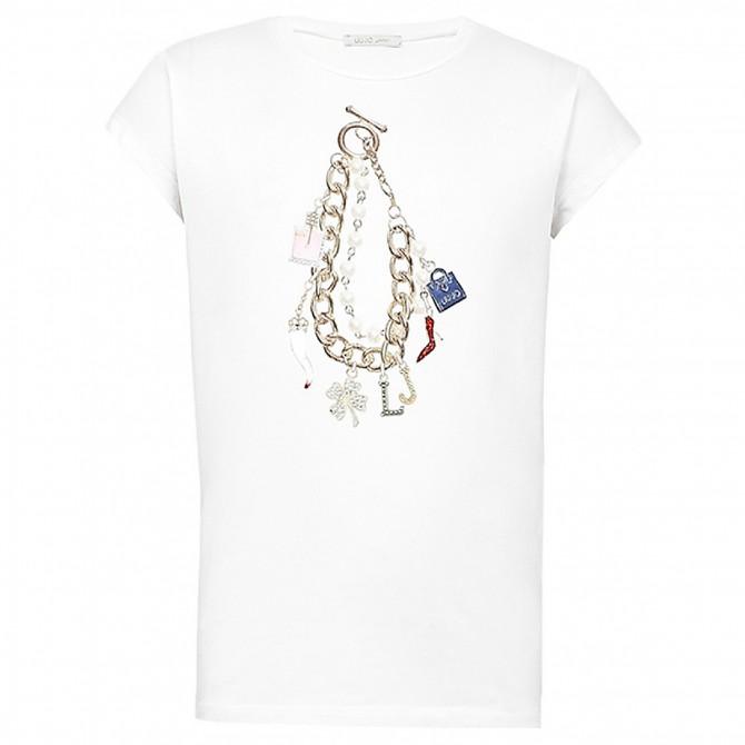 T-shirt Liu-Jo Charm Donna